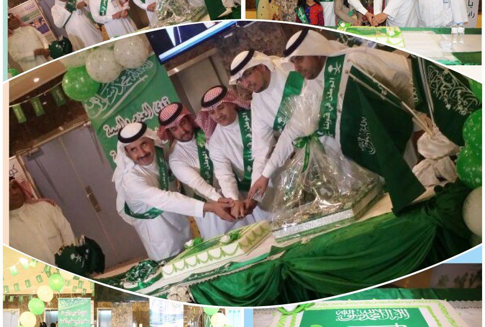 محافظ عنيزة رعى احتفاء مستشفى الملك سعود بعنيزة باليوم الوطني