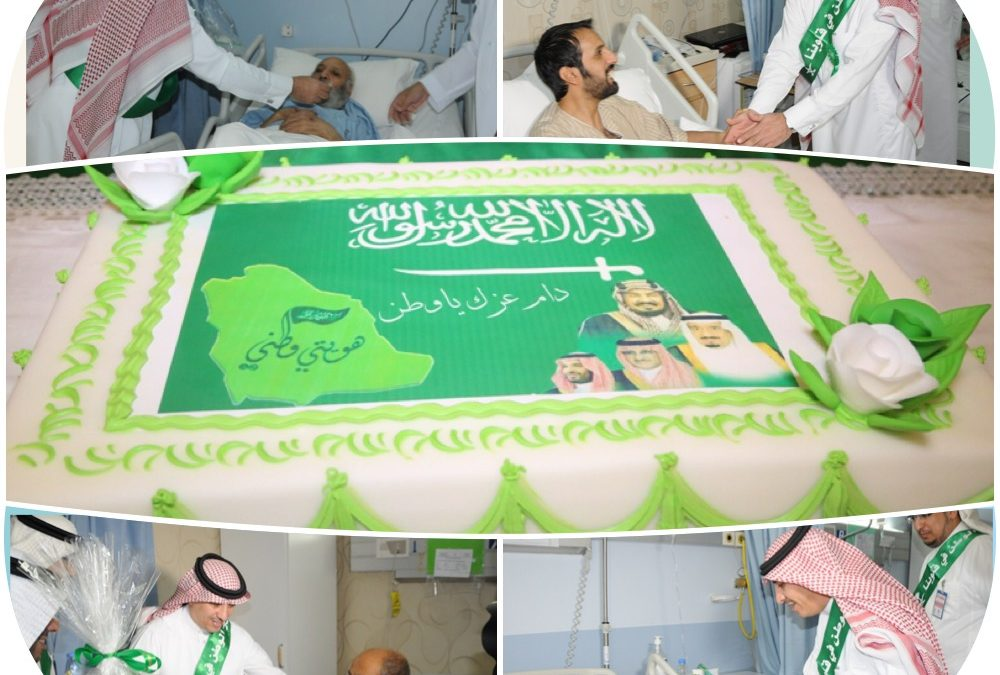 محافظ عنيزة وأصدقاء المرضى زاروا المنومين بمستشفى الملك سعود