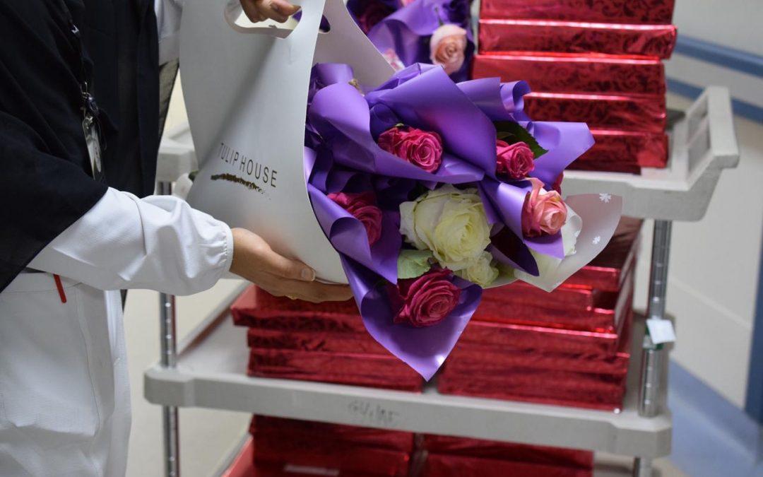 نسائي أصدقاء مرضى عنيزة تتفاعل مع اليوم العالمي للتطوع ببرامج لمنومي مستشفى الملك سعود
