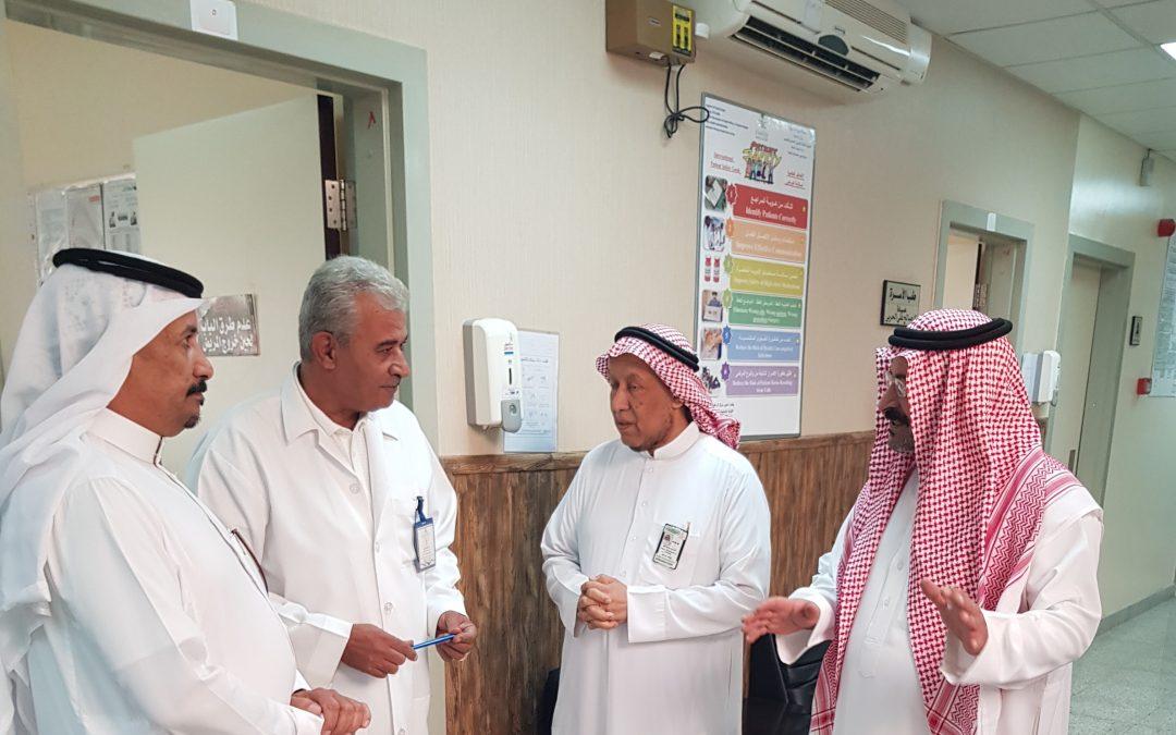 فريق زيارات أصدقاء المرضى بعنيزة يزور مركز صحي السليمانية