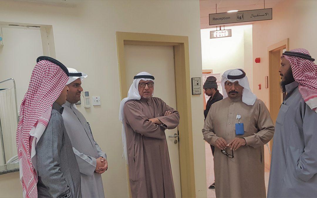 زيارة مركز صحي الروغاني